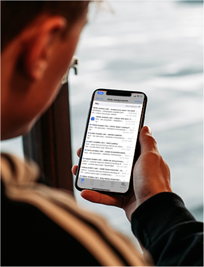 Mobile v2 - Marshall Blog
